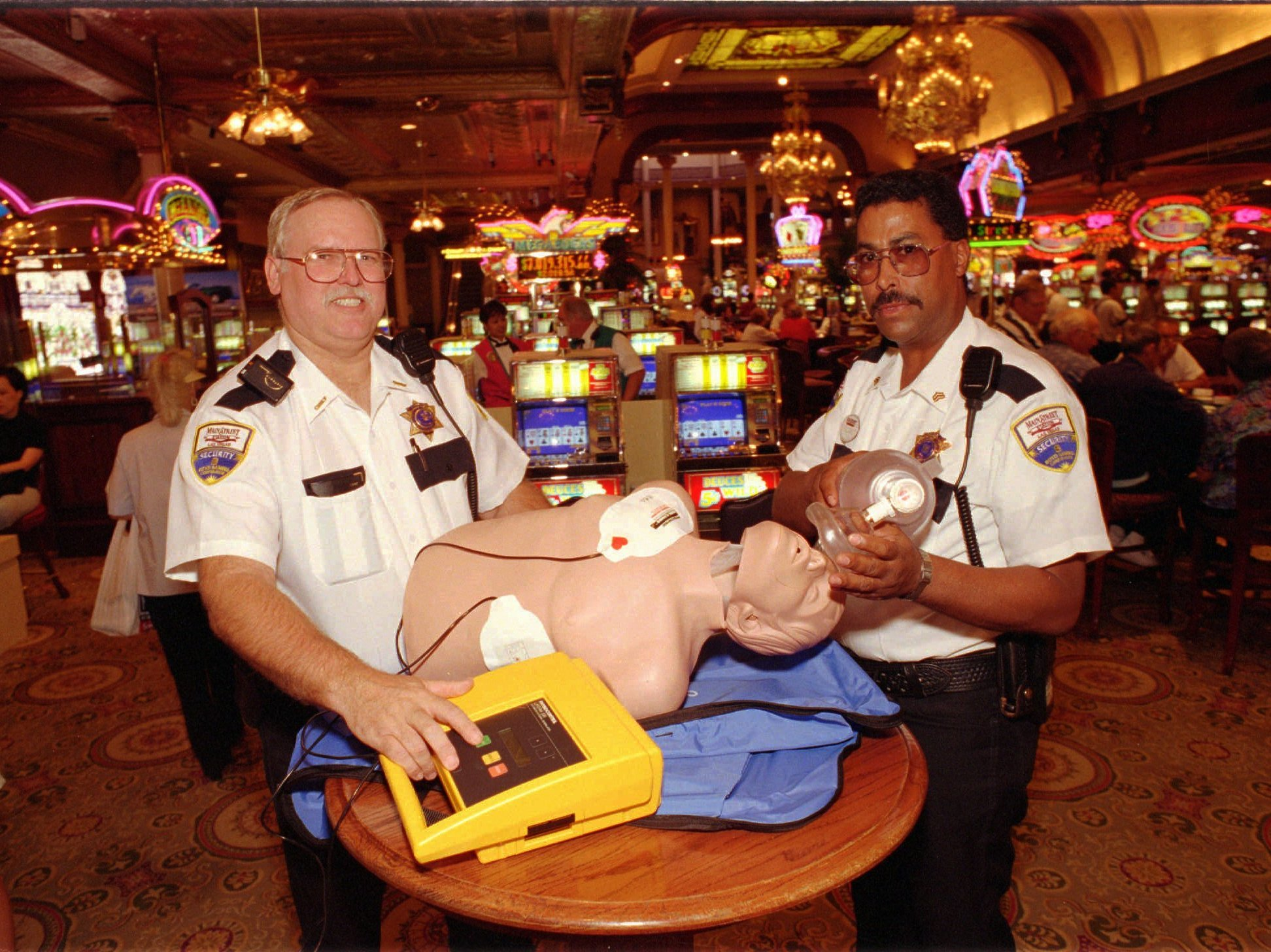 To Save A Life, Odds Favor Defibrillators In Casinos | Health News ...