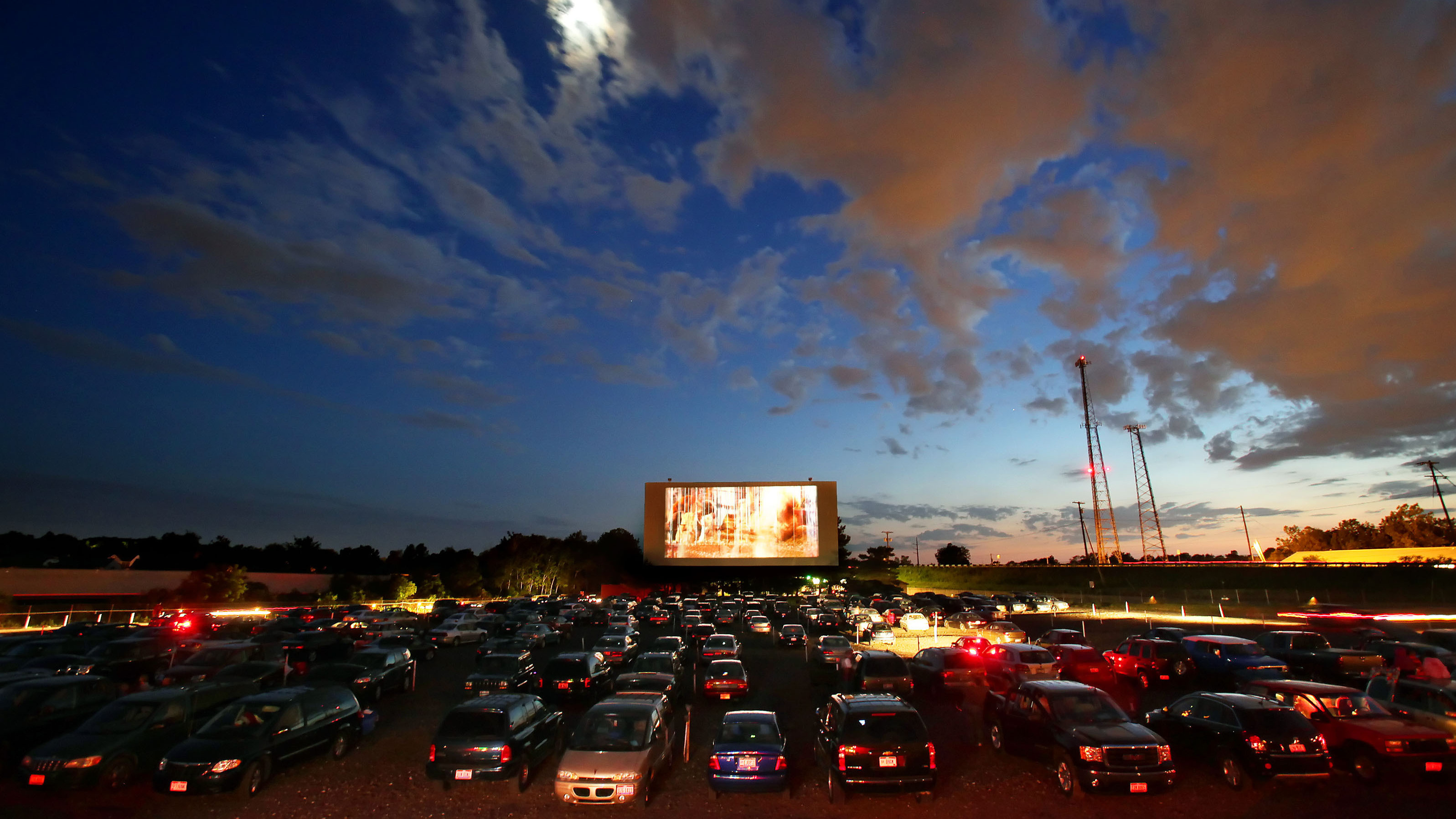 The nearest drive in movie theater