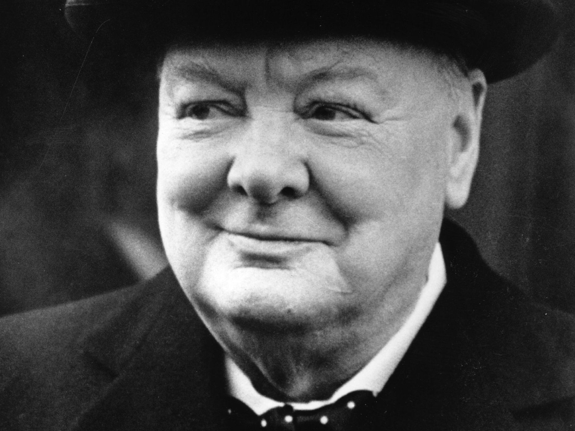 winston churchill s way words northeast na public radio