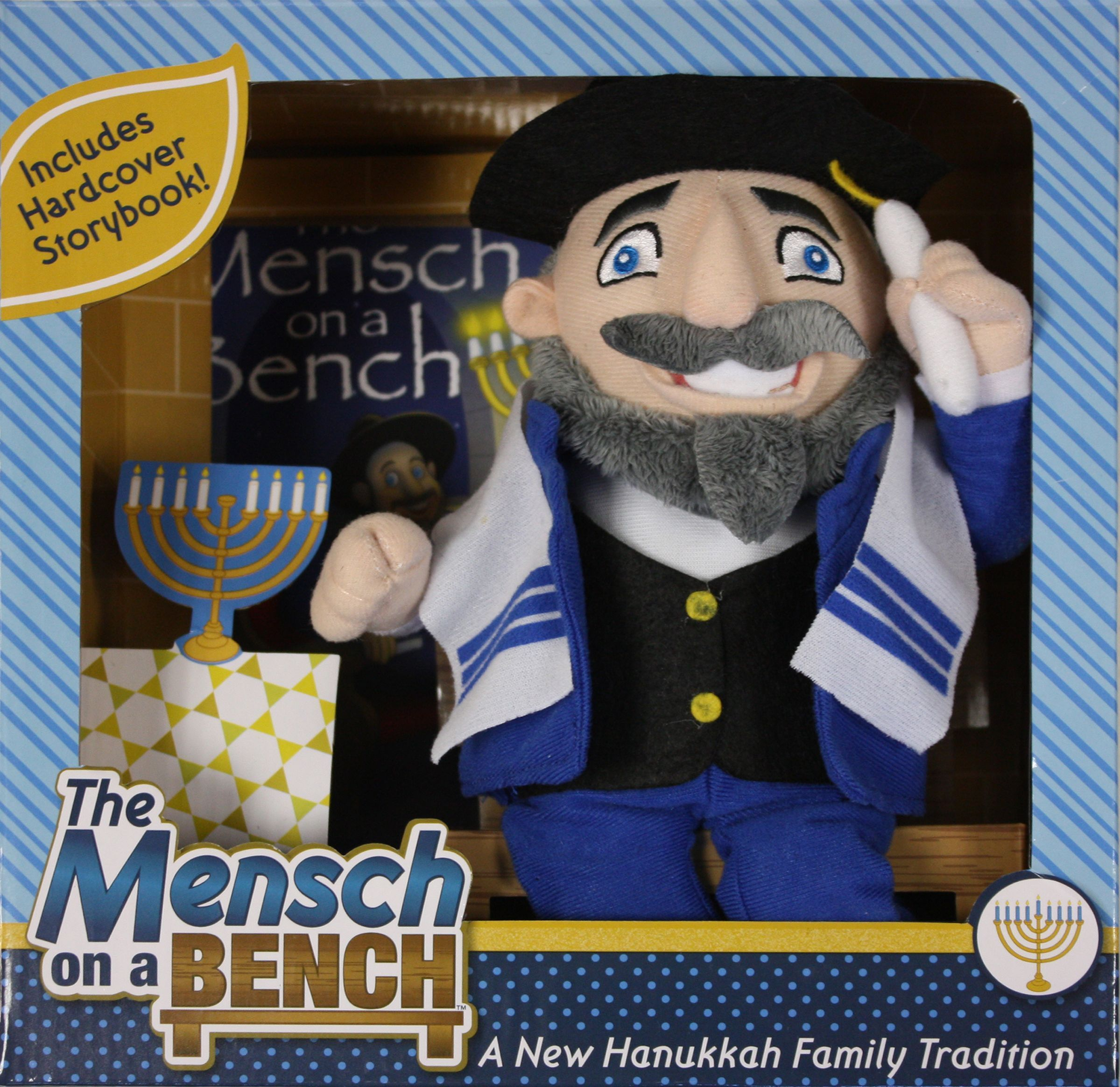 Meet Mensch On A Bench Jewish Counterpart To Elf On The