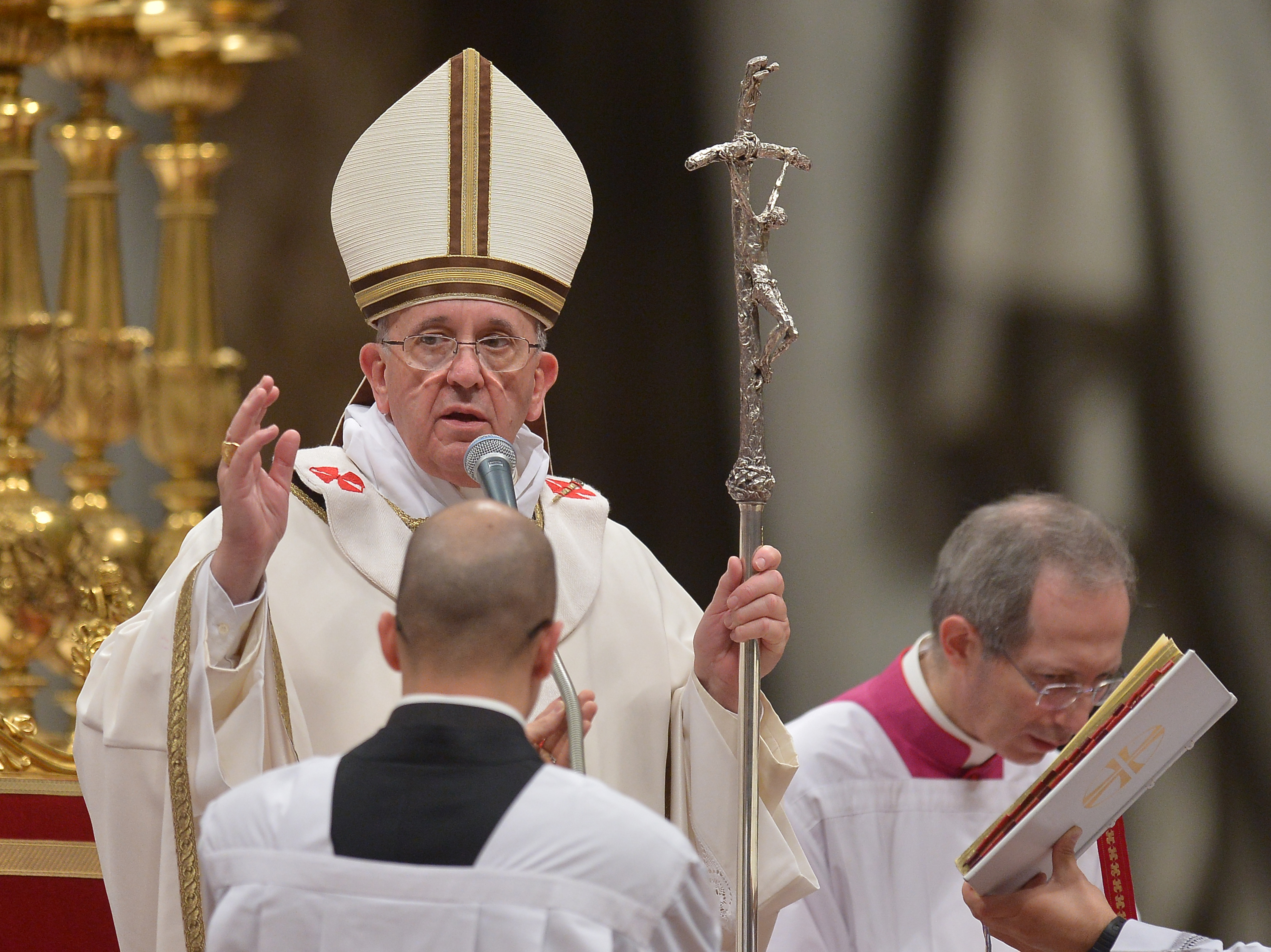 Pope Francis Preaches Message Of Love At Christmas Eve Mass | KUT