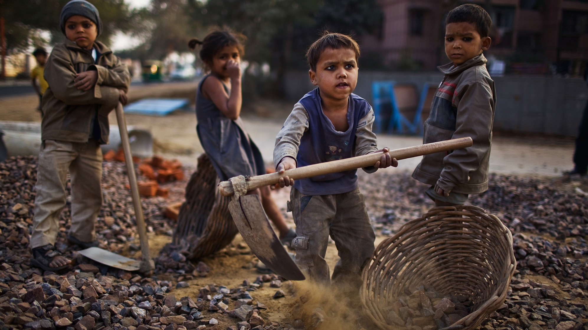 nobel laureate kailash satyarthi aims to eliminate child labor wshu