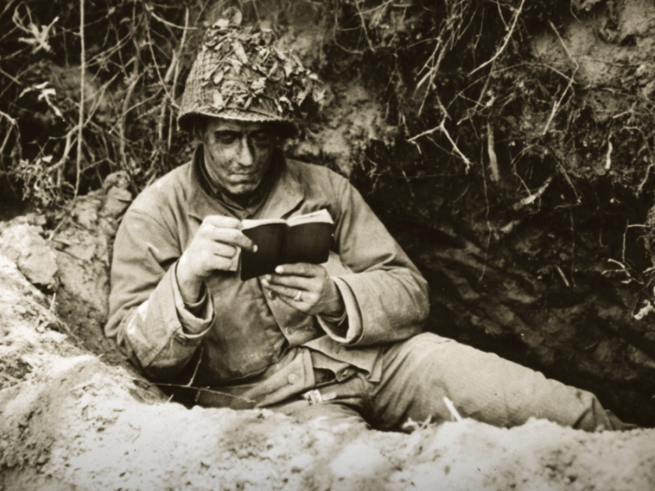 Image result for soldiers reading