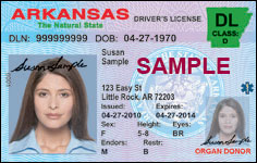 Kasu Drivers To Route En Digital Arkansas License