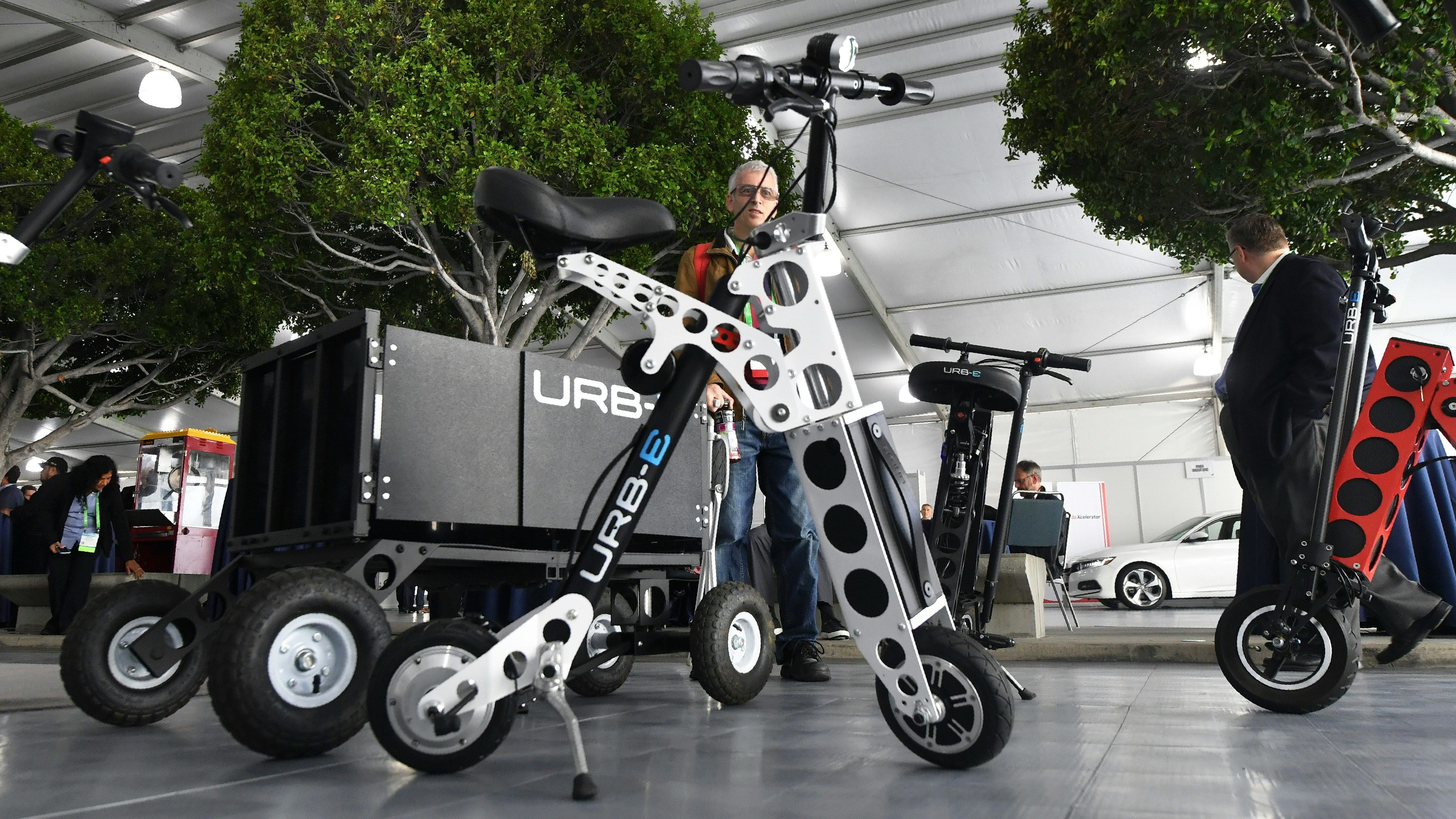 New Wave Of Electric 2 Wheelers U S City Streets