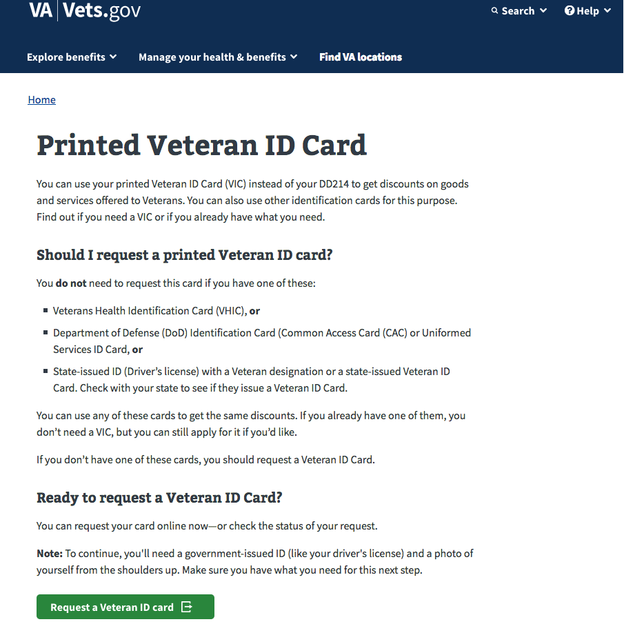two years after congress required it, the va now is offering