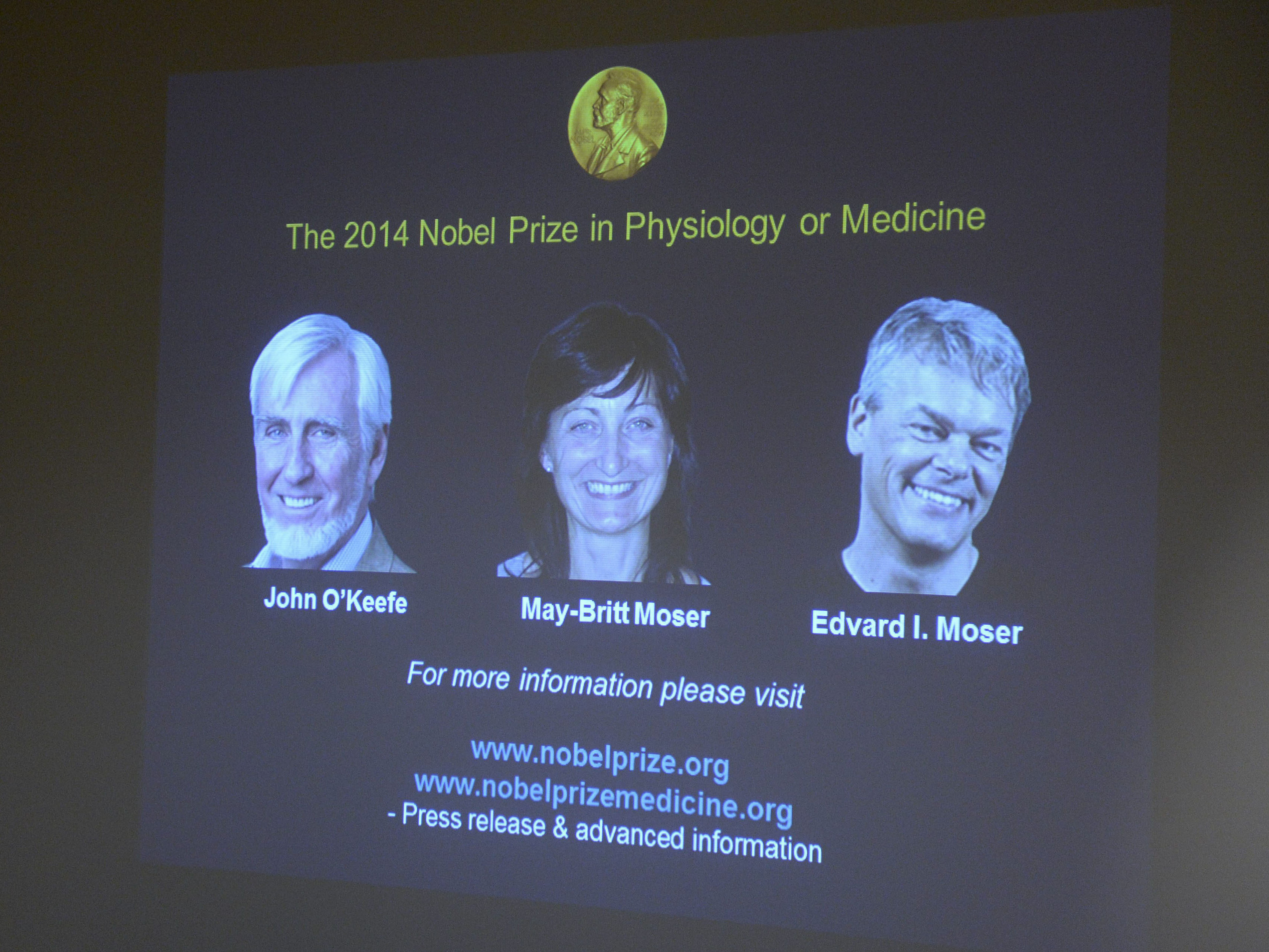 3 win nobel prize in medicine for discovering brains inner gps ksmu radio