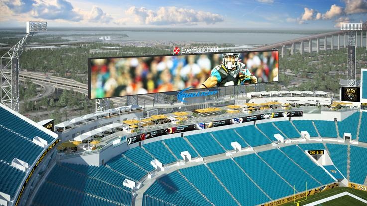 At Jaguars 39 New Stadium Come For The Football Or The Swimming St Louis Public Radio