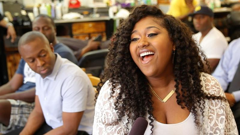 Jazmine Sullivan Fades A New Orleans Barber Shop KLCC