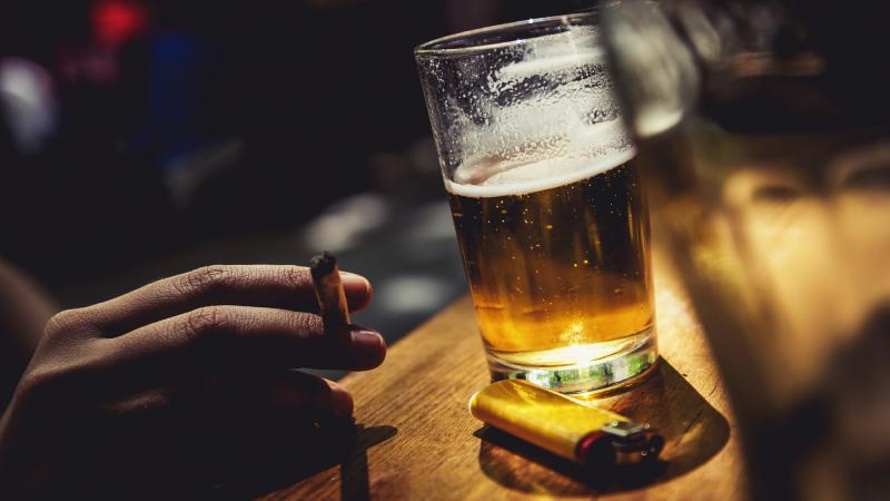 When cigarettes cost more people drink less except for for La fenetre wines