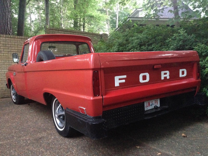 Gary Borders: Driving an old farm truck is a labor of love   WWNO