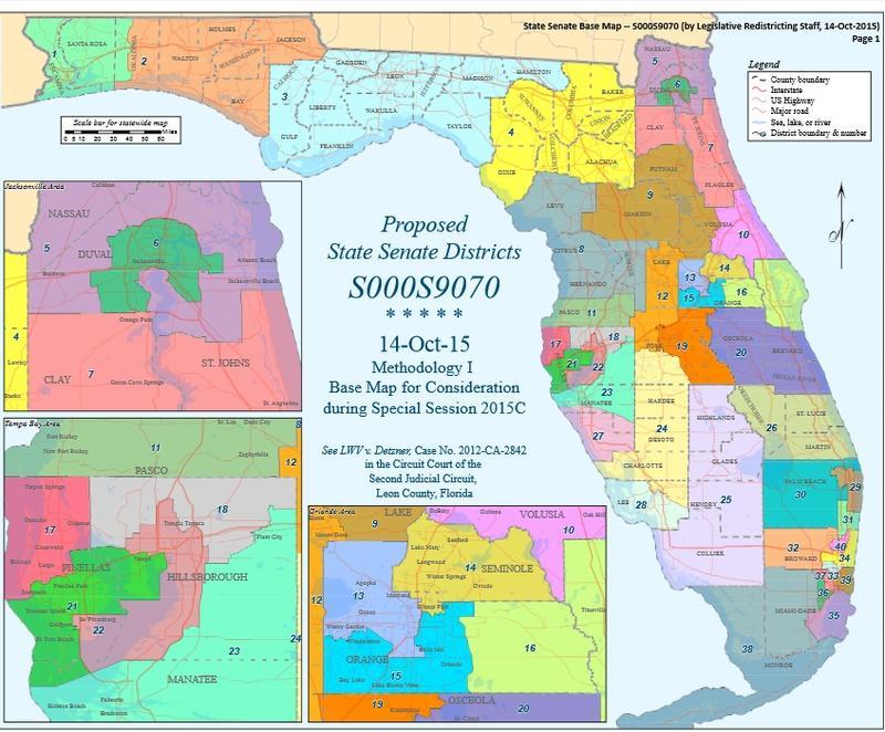 Judge Approves VotingRights Groups Senate Map WLRN