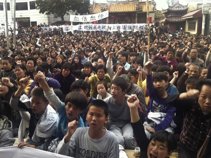 Rebellious Chinese Village Challenges The Authorities — Again ...