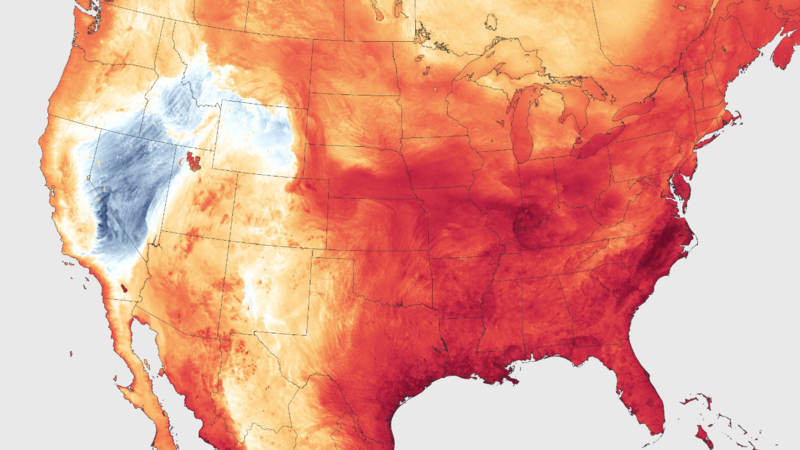Heat Dome Causing Excessive Temperatures In Much Of U S