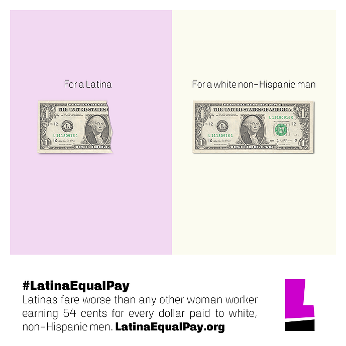 Latina Equal Pay Day How Race Plays A Role In The Gender Wage Gap