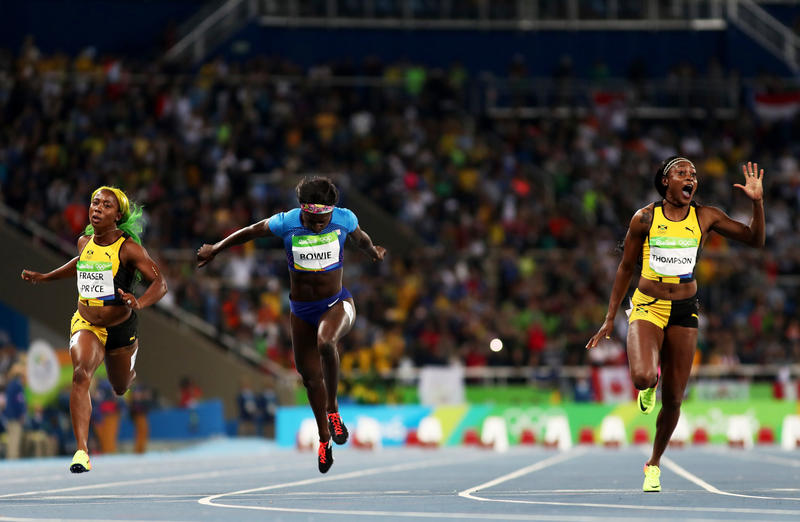 69dc4284651f Rio Highlights  Phelps Ends With 23 Golds  Jamaicans Maintain Sprint  Dominance