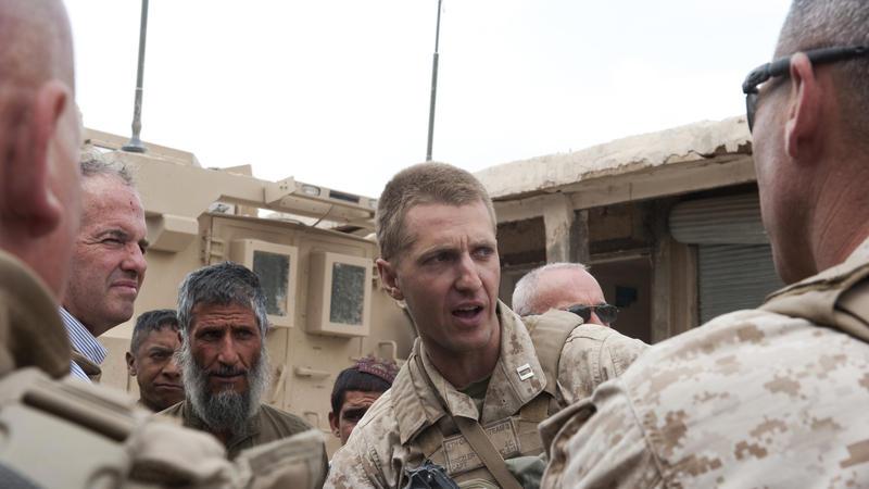 Femal naked marine afghanistan draw?