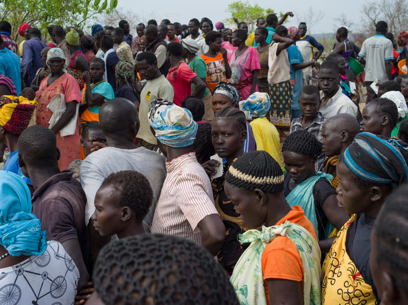 As Thousands Flee South Sudan Ugandan Refugee Camp