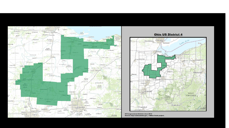 How Did Ohios Most Liberal City End Up With Its Most Conservative - Ohio-on-us-map