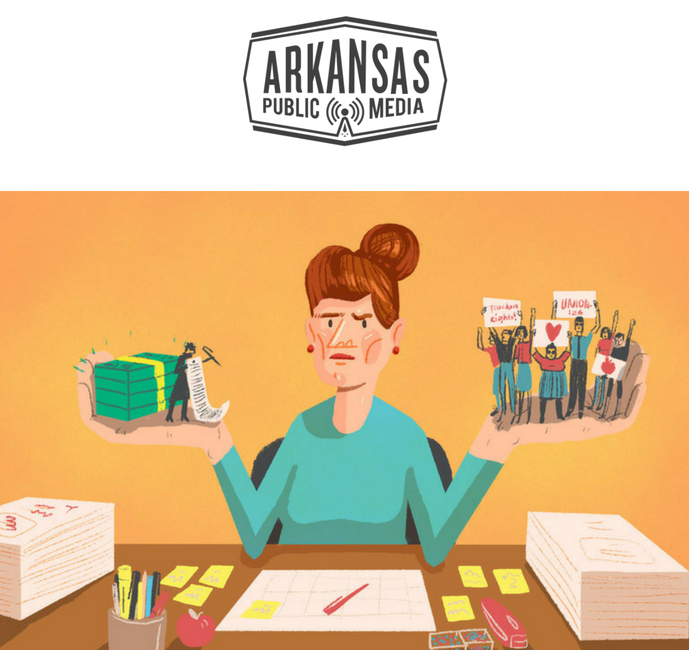 In Arkansas, Unions, Professional Associations Vie For Teacher Membership