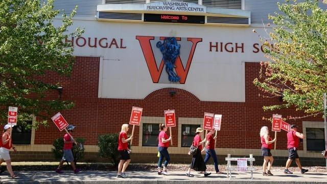 Clark County Teachers Affirm Strike Commitment If Funding: Thousands Of Southwest Washington Teachers Strike