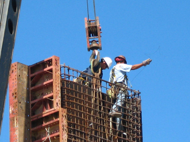 workers in public Construction