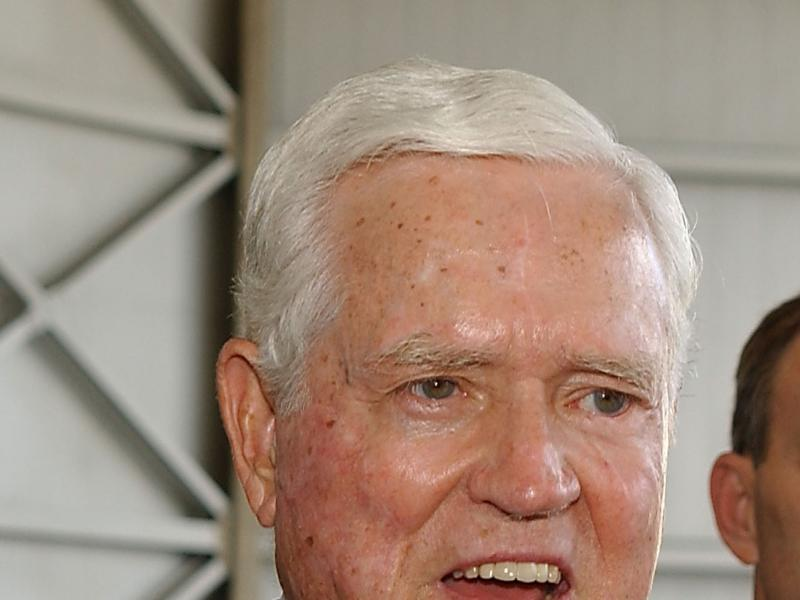 Emotional Eulogies Highlight Funeral Of Fritz Hollings