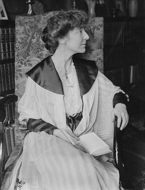 Jeannette Rankin was the only member of Congress to vote against the U.S. entering World War I and World War II.