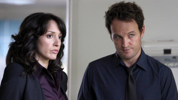 Jennifer Beals and Jason Clarke are among the stars of <em>The Chicago Code</em>, which Fox canceled Tuesday.