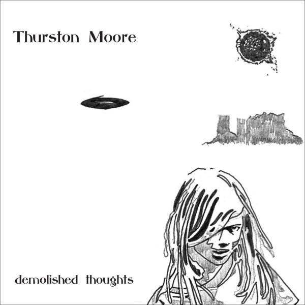 Cover to Thurston Moore's <em>Demolished Thoughts</em>.
