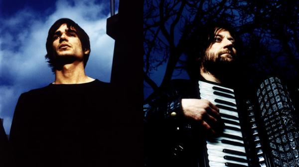 Jon Hopkins (left) and King Creosote collaborate on the new album <em>Diamond Mine</em>, out May 24.