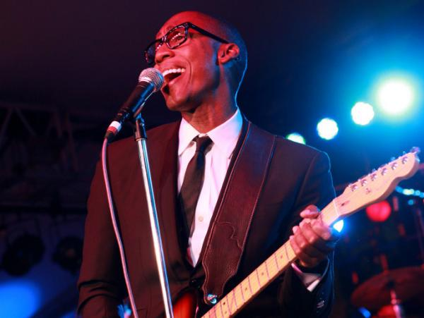 Raphael Saadiq's latest album is called <em>Stone Rollin'</em>.