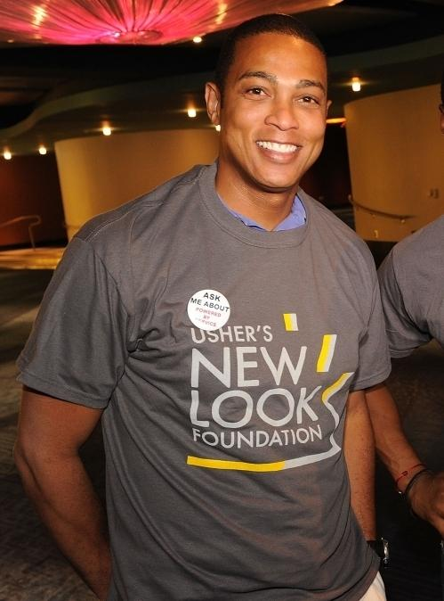 CNN anchor Don Lemon poses for Powered By Service Day in Atlanta, Georgia. Lemon recently came out as gay on Twitter.
