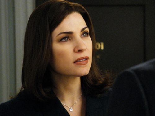 Julianna Margulies plays Alicia Florrick on CBS's <em>The Good Wife</em>.