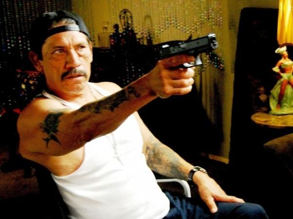 Playing a small-time hustler and the film's main villain, a sneering Danny Trejo ends up as a stand-in for all the evils of L.A.'s gritty underside.
