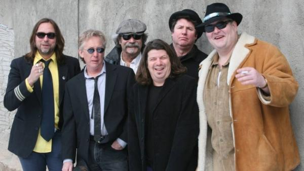 John Popper (right) and the Duskray Troubadours.