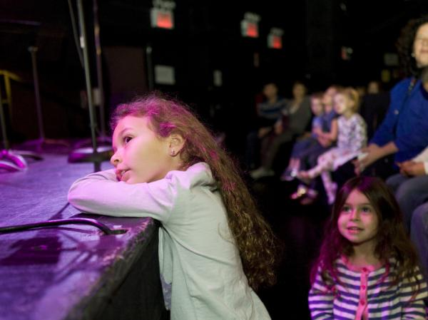 Up close and very personal: young listeners get a taste of classical music at New York's Baby Got Bach.