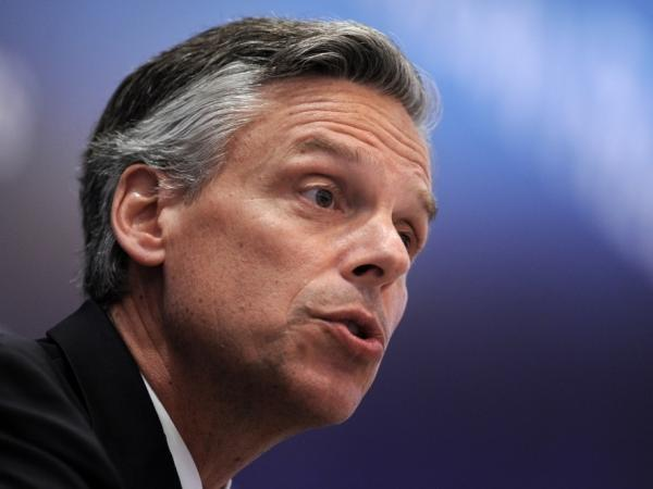 Democrats have cranked up their attacks on Huntsman, as he prepares a swing through New Hampshire.