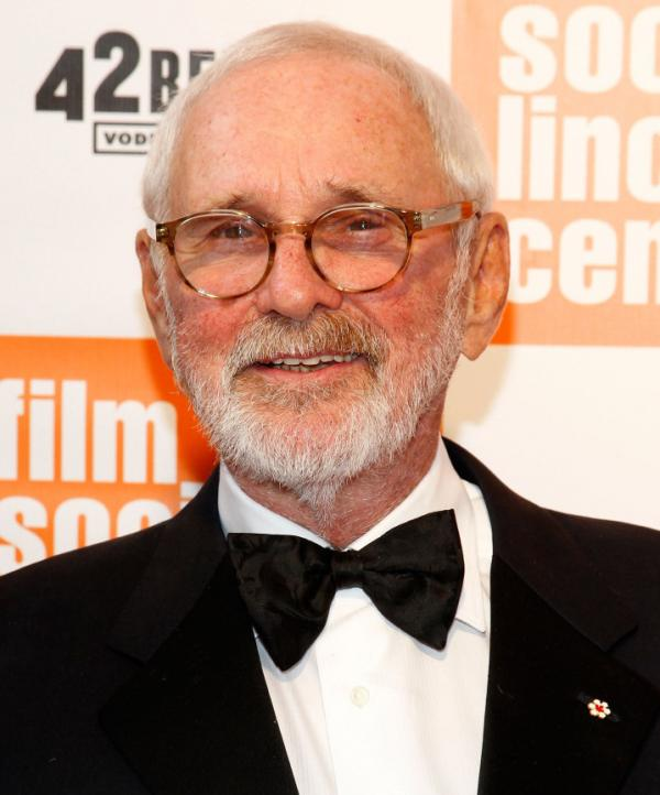 Norman Jewison earlier this month at the Film Society of Lincoln Center. This week, the Society will present 15 of Jewison's films in a series celebrating his life's work.
