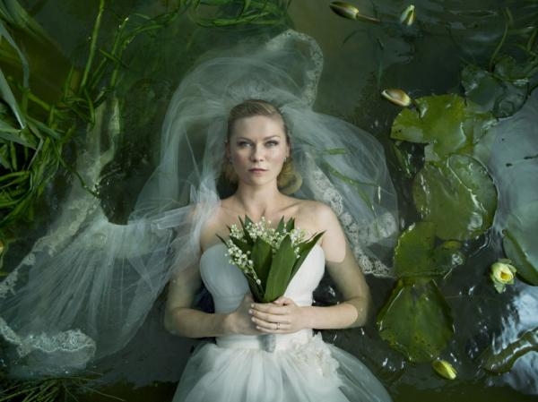 Kirsten Dunst won the Best Actress prize for her role in Lars Von Trier's <em>Melancholia</em>.