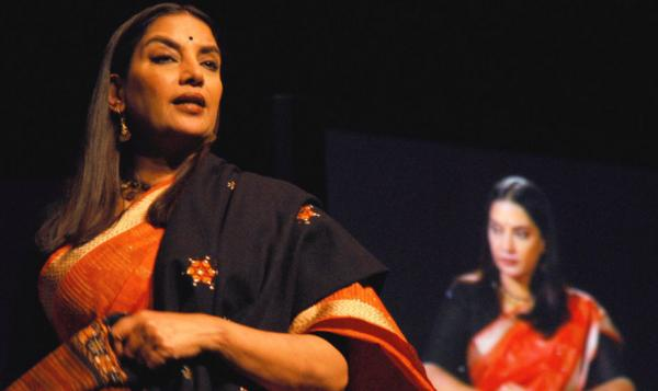 <strong>Identity Crisis:</strong> Shabana Azmi stars in playwright Girish Karnad's Kennedy Center production of <em>Broken Images</em>, about a Hindu short-story writer who wonders if she's betrayed her language and identity by writing an English best-seller.