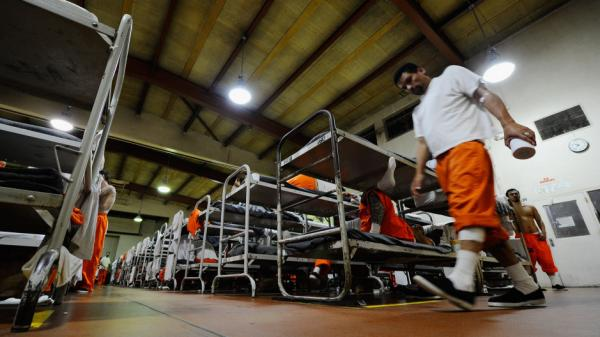 Inside California's Chino State Prison.