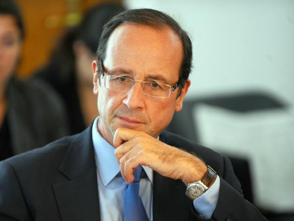 French Socialist Party politician Francois Hollande meets with the president of the Tunisian national commission for political reform on May 24 in Tunis. Many in France consider Hollande to be a leading contender for the Socialist Party's presidential candidate in the wake of Dominique Strauss-Kahn's exit.