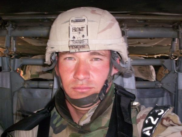 Army Staff Sgt. Darrell Griffin Jr. was killed in March 2007 in Iraq by a sniper.