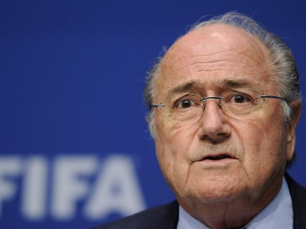FIFA President Sepp Blatter on May 9, 2011, in Zurich.