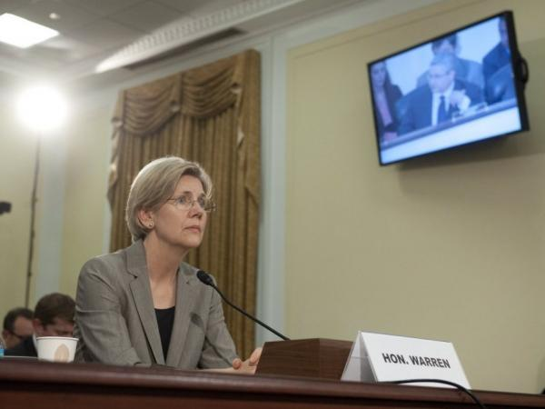 Elizabeth Warren testifies before a House subcommittee, May 24, 2011.