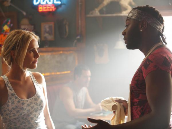 Sookie Stackhouse (Anna Paquin) and Layfayette Reynolds (Nelsan Ellis) return to the Louisiana bayou for <em>True Blood</em>'s fourth season.