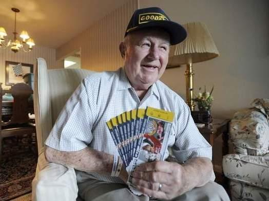 Robert Joss has his tickets ready for this year's Indy 500 — as he has every year since Harry Truman was president.