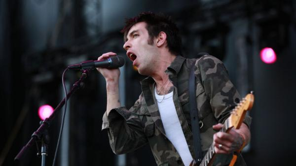 Dan Boeckner of Wolf Parade performs at Sasquatch Music Festival 2011.