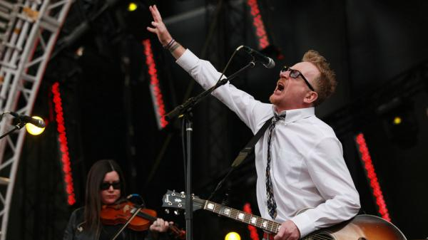 Flogging Molly performs at the 2011 Sasquatch Music Festival.
